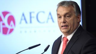 Budapest, 2017. november 28. Orbán Viktor miniszterelnök beszédet mond az Ázsiai Pénzügyi Együttmûködési Szövetség (AFCA) kétnapos pénzügyi csúcstalálkozójának megnyitóján a Magyar Nemzeti Bankban 2017. november 28-án. MTI Fotó: Kovács Tamás