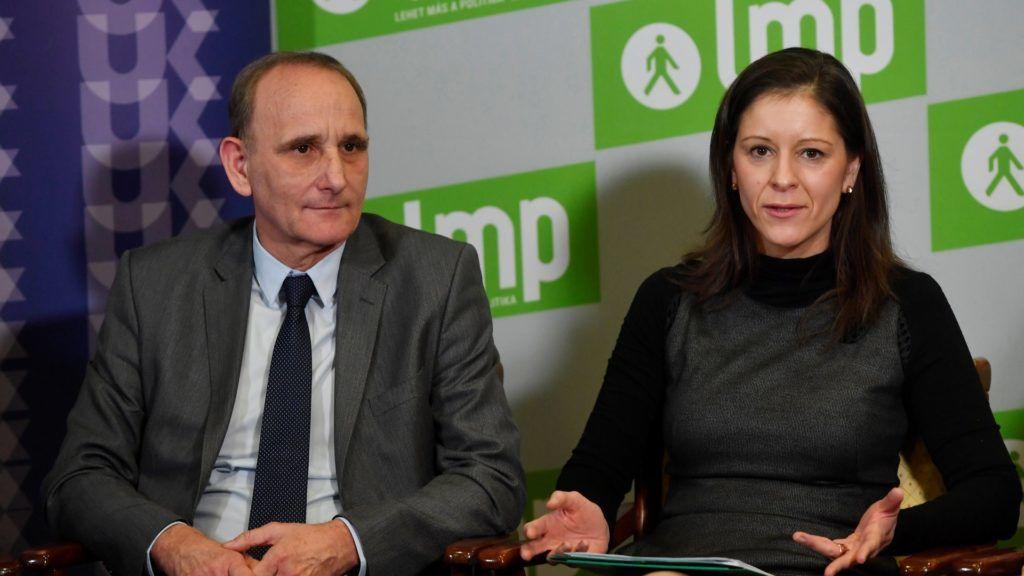 Az LMP és az Új Kezdet közös sajtótájékoztatója