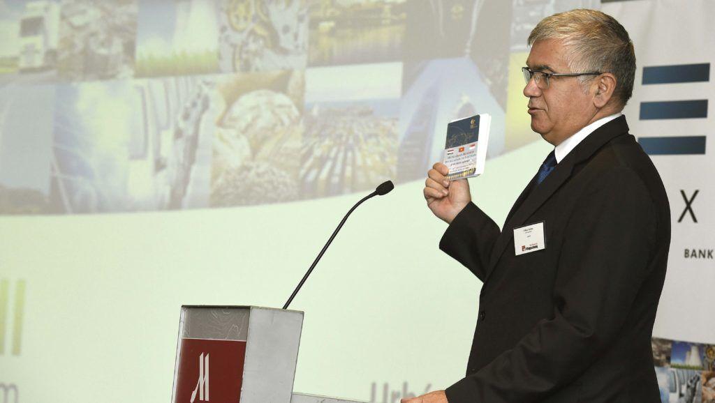 Budapest, 2017. szeptember 28. Urbán Zoltán, az Eximbank vezérigazgatója a Magyar vállalatok, családi vállalatok, avagy hogyan legyünk sikeresek? címû konferencián Budapesten 2017. szeptember 28-án. MTI Fotó: Bruzák Noémi