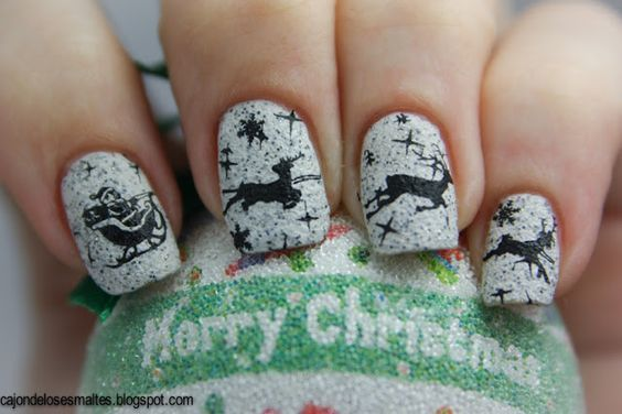 Moyou festive plate Santa sleigh