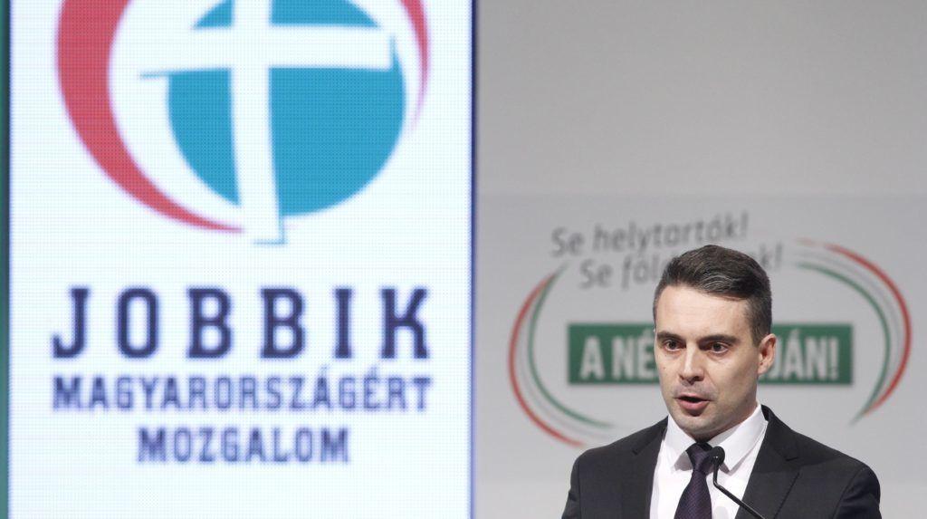 Budapest, 2017. január 28. Vona Gábor pártelnök a Jobbik évadnyitó rendezvényén a Sport11 rendezvényközpontban 2017. január 28-án. MTI Fotó: Szigetváry Zsolt