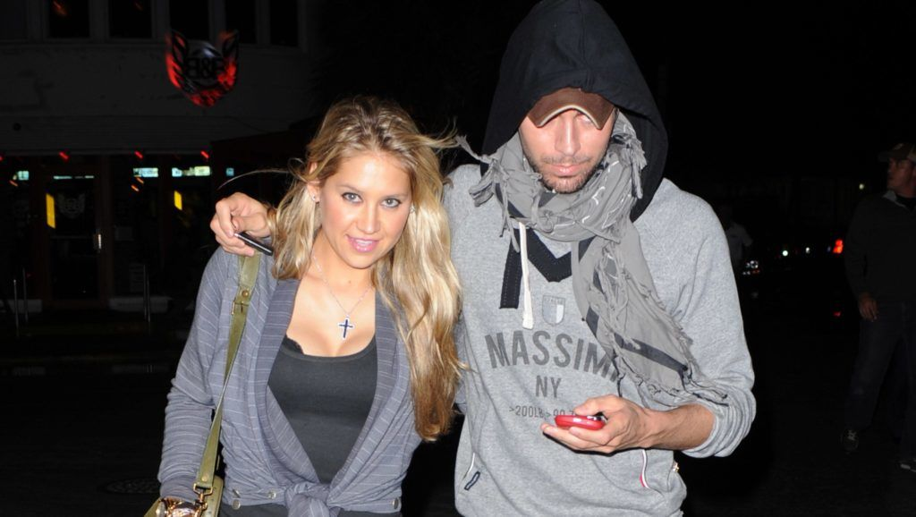 MIAMI BEACH, FL - NOVEMBER 12: Anna Kournikova and Enrique Iglesias are sighted on November 12, 2011 in Miami Beach, Florida. (Photo by Uri Schanker/FilmMagic)