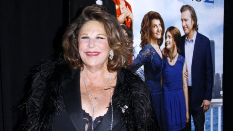 """NEW YORK, NY - MARCH 15:  Lainie Kazan attends the""""My Big Fat Greek Wedding 2"""" New York Premiere at AMC Loews Lincoln Square 13 theater on March 15, 2016 in New York City.  (Photo by Donna Ward/Getty Images)"""
