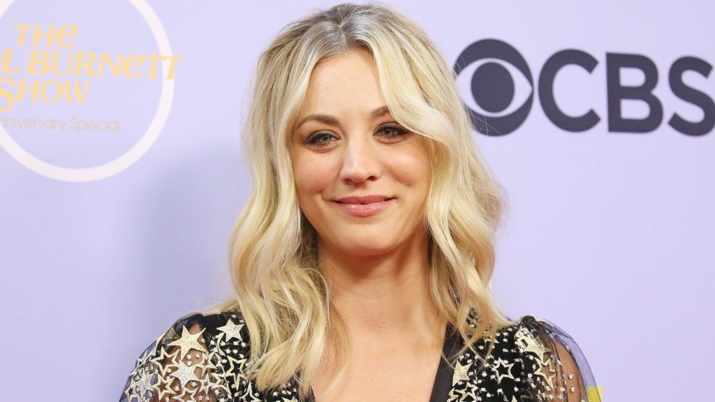 """LOS ANGELES, CA - OCTOBER 04:  Kaley Cuoco attends """"The Carol Burnett Show - 50th Anniversary Special"""" held at CBS Televison City on October 4, 2017 in Los Angeles, California.  (Photo by Michael Tran/FilmMagic)"""