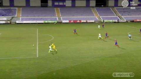 A kapust is kicselezte a Fradi játékosa a gólja előtt – videó