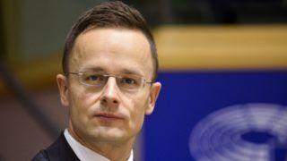 Brüsszel, 2017. december 7. Az Európai Parlament (EP) által közreadott kép Szijjártó Péter külgazdasági és külügyminiszterrõl  az EP belügyi, állampolgári jogi és igazságügyi szakbizottságának (LIBE) a jogállamiság magyarországi helyzetérõl tartott meghallgatásán Brüsszelben 2017. december 7-én. (MTI/Európai Parlament/Dominique Hommel)