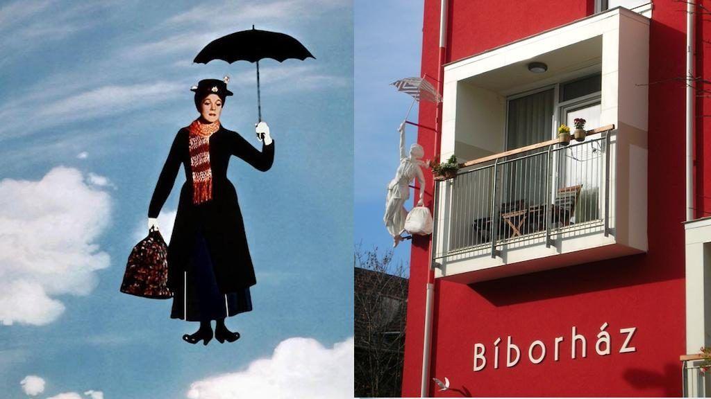 Mary Poppins Budán él, és menő otthona van