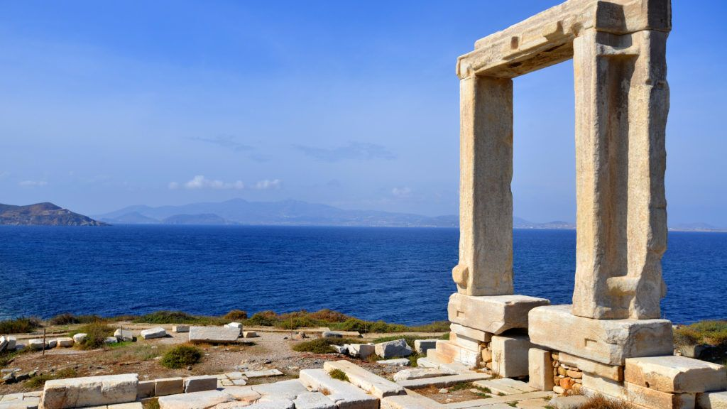 Portara of Naxos, ancient Greece landmark