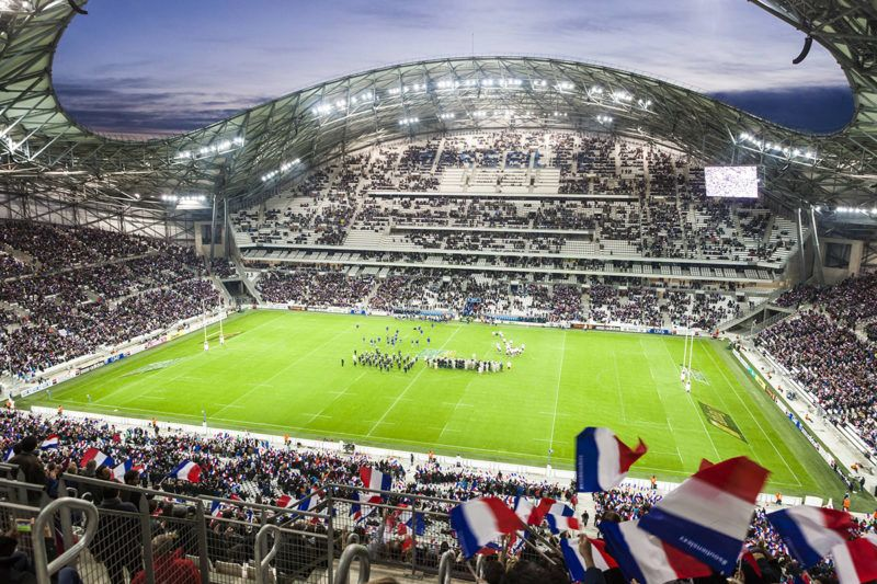 France, Bouches du Rhone, Marseille, Rond Point du Prado district, the Stade Velodrome