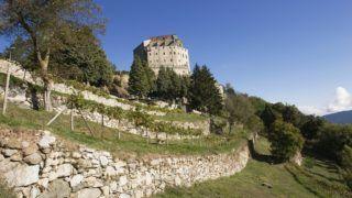 Italy, Piedmont, Val di Susa, Sacra di San Michele