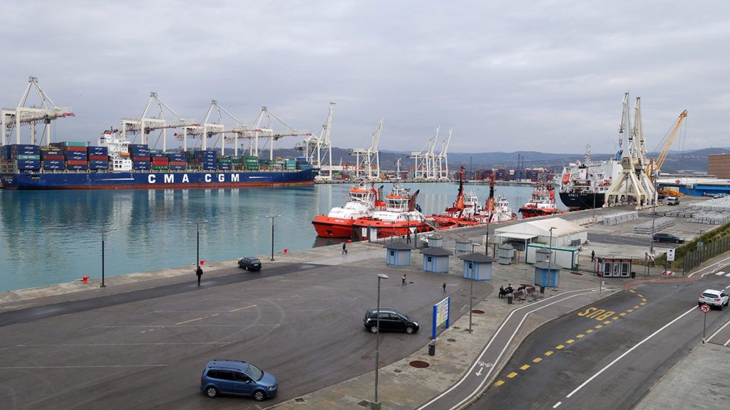 Slovenia - Koper - Port (Photomerge 2 picture) - Slovenia 2016