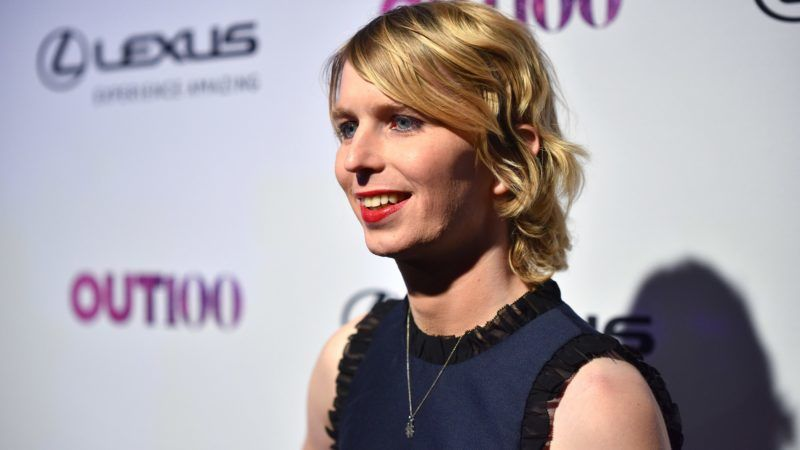 NEW YORK, NY - NOVEMBER 09: OUT100 Newsmaker of the Year Chelsea Manning attends OUT Magazine #OUT100 Event presented by Lexus at the the Altman Building on November 9, 2017 in New York City.   Bryan Bedder/Getty Images for OUT Magazine/AFP
