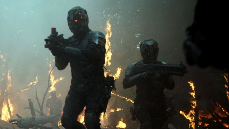 Altered Carbon fighters
