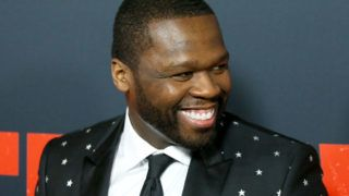 """LOS ANGELES, CA - JANUARY 17:  Curtis """"50 Cent"""" Jackson arrives to Los Angeles premiere of STX Films' """"Den Of Thieves"""" held at Regal LA Live Stadium 14 on January 17, 2018 in Los Angeles, California.  (Photo by Michael Tran/FilmMagic)"""