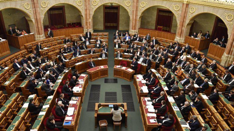Budapest, 2017. december 11. Az Országgyûlés plenáris ülése 2017. december 11-én. MTI Fotó: Illyés Tibor