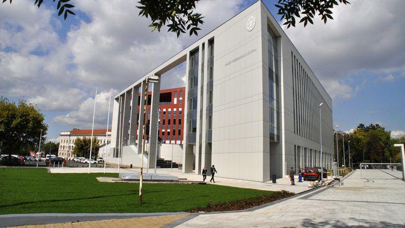 Budapest, 2017. szeptember 19.A Nemzeti Közszolgálati Egyetem központi oktatási, rendészeti oktatási és kollégiumi épülete az Üllői úton 2017. szeptember 18-án.MTI Fotó: Balaton József