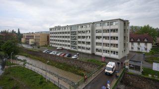 Eger, 2017. május 8. A 7,3 milliárd forintos kormányzati fejlesztésbõl megújult egri Markhot Ferenc Kórházban 2017. május 8-án. MTI Fotó: Komka Péter