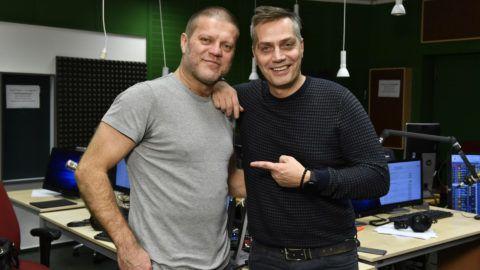 Szabó Győző (balra) és Harsányi Levente Fotó: Zih Zsolt, MTVA
