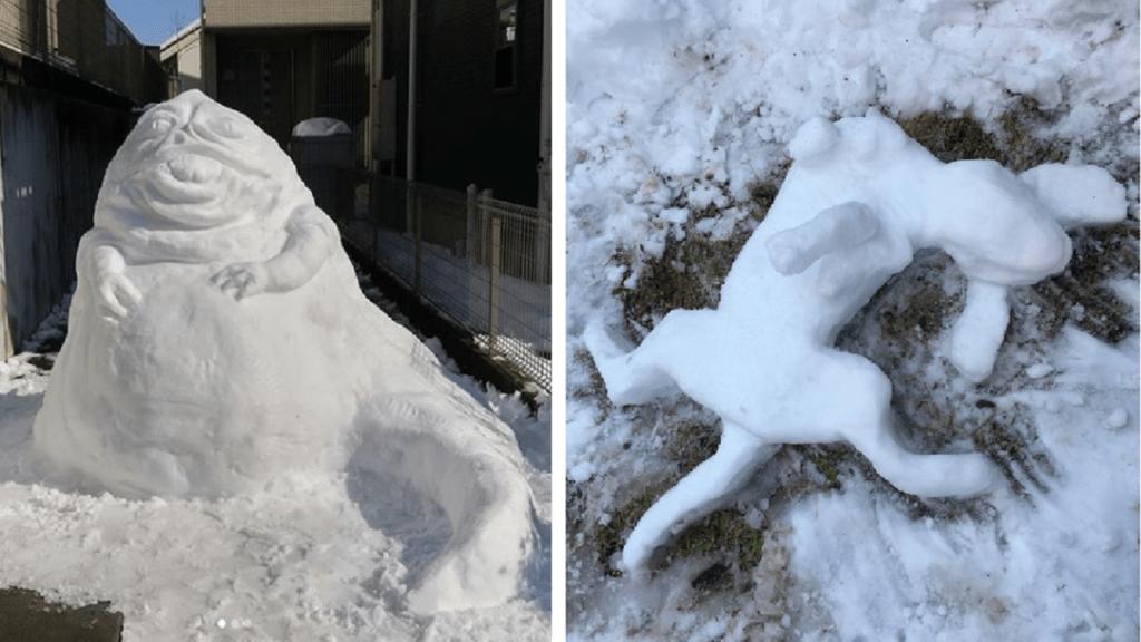 Nincsen menőbb a japán hóembereknél