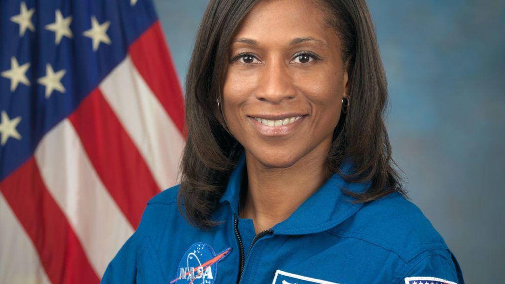 Photo Date: September 30, 2009Location: Bldg. 8, Room 272 Photo StudioSubject: Official Astronaut portrait of Jeanette EppsPhotographer:  Robert Markowitz