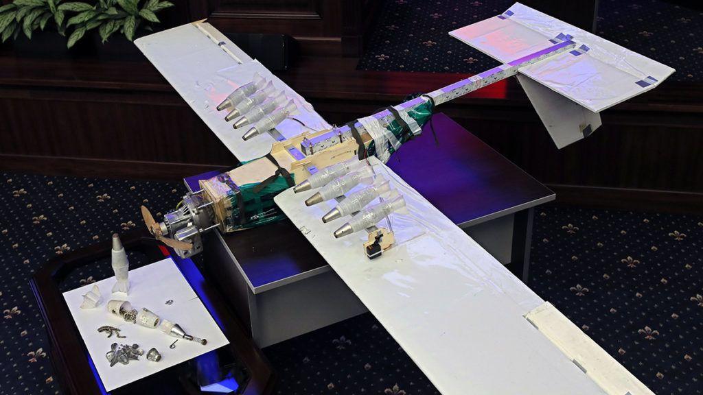 Ilyen dróntámadás még nem volt