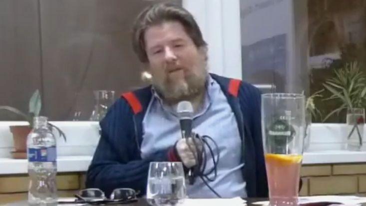 Uj Péter, a 444.hu főszerkesztője.