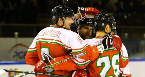 A magyar jégkorong-válogatott legyőzte Olaszországot