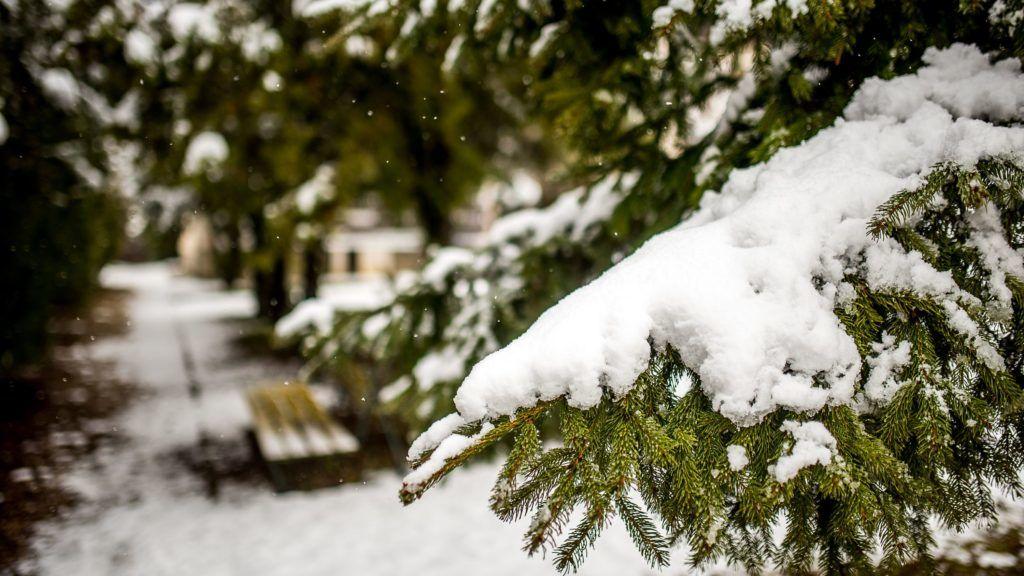 Keddig 15, szombatig 35 centi hó eshet - térkép