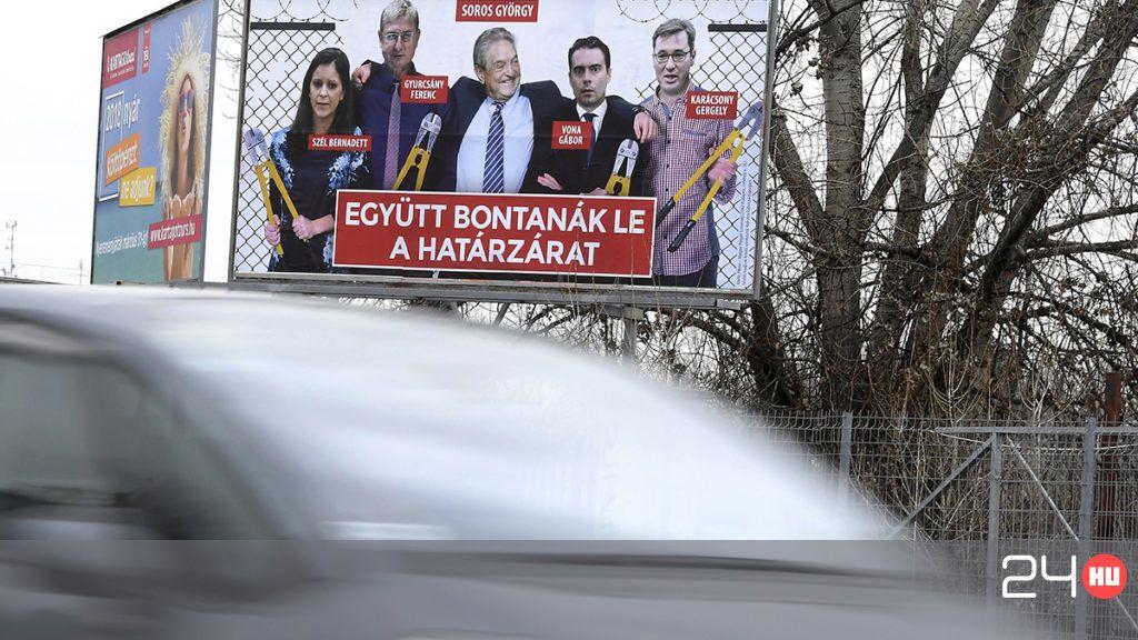 A Fidesz plakátkampányában megcsúszott az idő