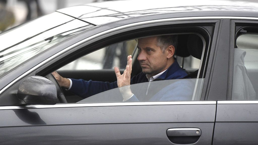 Visegrád, 2017. február 15.Szatmáry Kristóf fideszes képviselő érkezik a Fidesz-KDNP frakciószövetség kihelyezett tanácskozására Visegrádon 2017. február 15-én.MTI Fotó: Koszticsák Szilárd