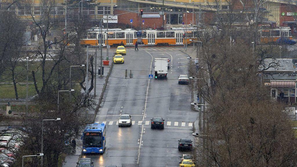 Budapest, 2018. február 7. A Rózsa utca és az Újpesti Szakorvosi Rendelõintézet 2018. február 7-én. MTI Fotó: Máthé Zoltán