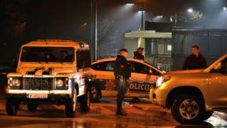 Kézigránátos támadás a podgoricai amerikai nagykövetség ellen