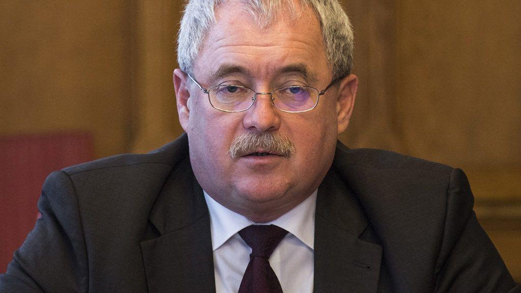 Budapest, 2017. november 9.Fazekas Sándor földművelésügyi miniszter meghallgatásán az Országgyűlés mezőgazdasági bizottságának ülésén 2017. november 9-én.MTI Fotó: Szigetváry Zsolt