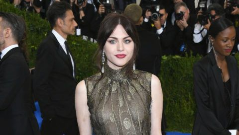 """NEW YORK, NY - MAY 01:  Frances Bean Cobain attends the """"Rei Kawakubo/Comme des Garcons: Art Of The In-Between"""" Costume Institute Gala at Metropolitan Museum of Art on May 1, 2017 in New York City.  (Photo by Dia Dipasupil/Getty Images For Entertainment Weekly)"""