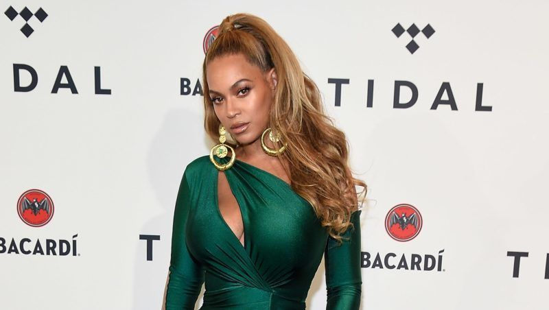 NEW YORK, NY - OCTOBER 17:  (Exclusive Coverage) Beyonce attends TIDAL X: Brooklyn at Barclays Center of Brooklyn on October 17, 2017 in New York City.  (Photo by Kevin Mazur/Getty Images for TIDAL)