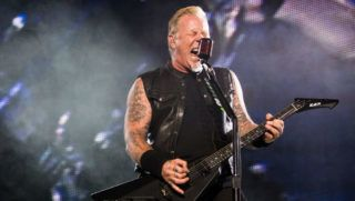 SEATTLE, WA - AUGUST 09:  Singer James Hetfield of Metallica performs at CenturyLink Field on August 9, 2017 in Seattle, Washington.  (Photo by Suzi Pratt/WireImage)