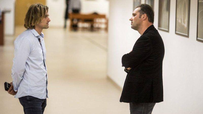 Mazán Zsolt és Mazán Tamás a Médiatanács elleni, az Interax Kft. által indított per tárgyalásán