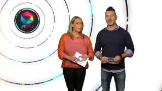 Az új Lifestyle című RTL-es műsor két műsorvezetője, Valkó Eszter és Somogyi Zoltán