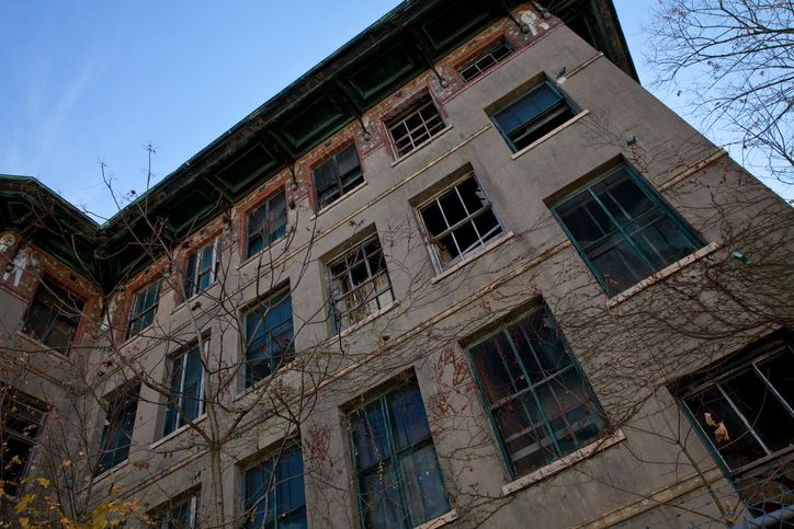 Abandoned building in New York City