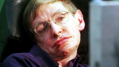 """(FILES): In this file photo taken on October 19, 2016 (FILES) In this file photo taken on October 19, 2016, British scientist Stephen Hawking attends the launch of The Leverhulme Centre for the Future of Intelligence (CFI) at the University of Cambridge, in Cambridge, eastern England.  Renowned British physicist Stephen Hawking has died at age 76, a family spokesman said Wednesday, March 14, 2018. We are deeply saddened that our beloved father passed away today,"""" professor Hawking's children, Lucy, Robert, and Tim said in a statement carried by Britain's Press Association news agency. """"He was a great scientist and an extraordinary man whose work and legacy will live on for many years.""""  / AFP PHOTO / STR"""