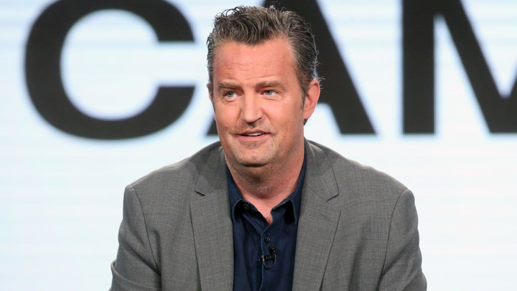 PASADENA, CA - JANUARY 13: Actor Matthew Perry of the television show 'The Kennedys - After Camelot' speaks onstage during the REELZChannel portion of the 2017 Winter Television Critics Association Press Tour at the Langham Hotel on January 13, 2017 in Pasadena, California   Frederick M. Brown/Getty Images/AFP