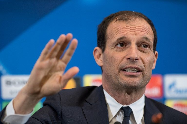 Massimiliano Allegri manager of Juventus during the press conference ahead the UEFA Champions League match between Tottenham Hotspur and Juventus at Wembley Stadium, London, England on 6 March 2018.  (Photo by Giuseppe Maffia/NurPhoto)
