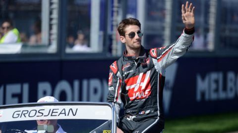 Talán kiesett Romain Grosjean, de a szurkolók szívét elnyerte