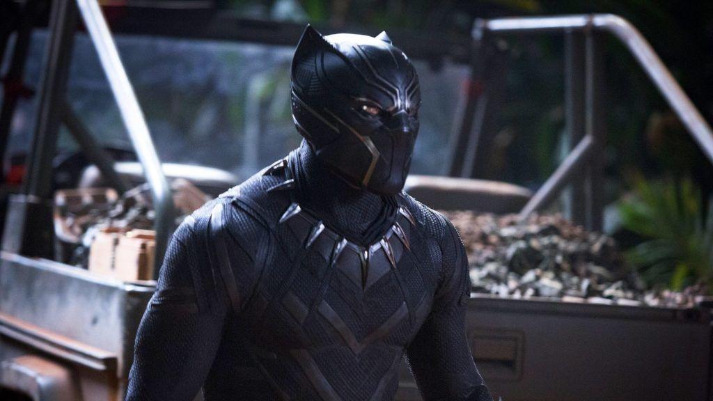 Marvel Studios' BLACK PANTHER  Black Panther/T'Challa (Chadwick Boseman)   Ph: Matt Kennedy  ©Marvel Studios 2018