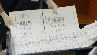 Budapest, 2014. március 20. Az országgyûlési választás elkészült szavazólapjai Budapesten, az ANY Biztonsági Nyomdában 2014. március 20-án. MTI Fotó: Kovács Tamás
