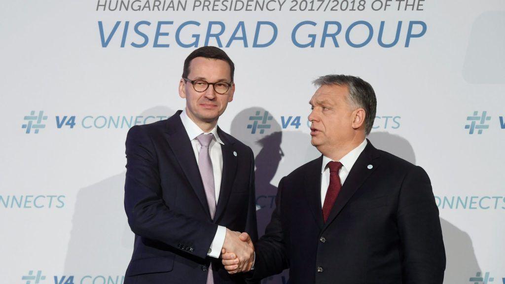 A visegrádi országok kormányfőinek találkozója Budapesten