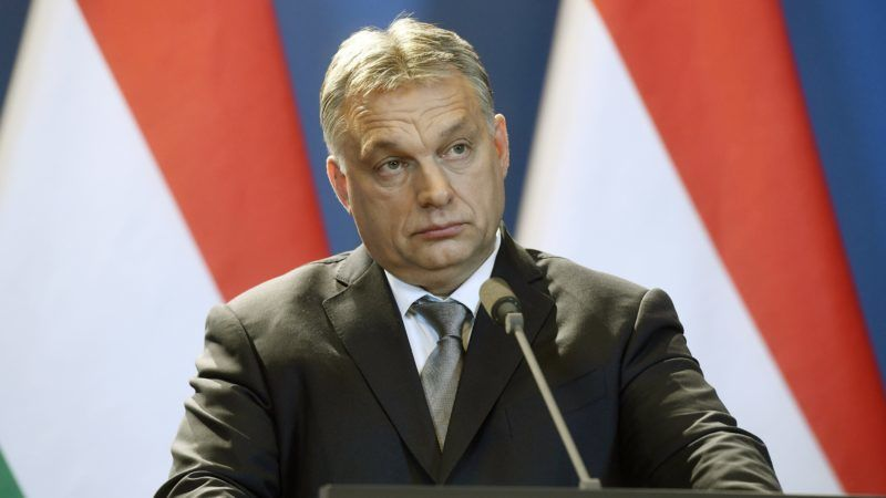 Budapest, 2018. január 26. Orbán Viktor kormányfõ az Andrej Babis cseh ügyvivõ miniszterelnökkel tartott sajtótájékoztatón az Országházban 2018. január 26-án. MTI Fotó: Koszticsák Szilárd