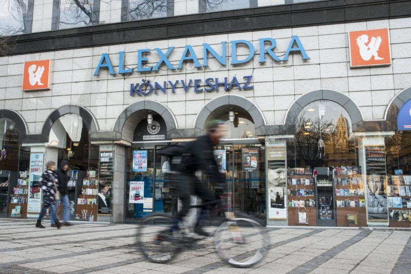 Budapest, 2017. január 19. Az Alexandra könyvesháza Budapesten, a Nyugati téren 2017. január 19-én. MTI Fotó: Marjai János