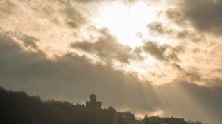 Budapest, 2018. január 6. A Gellért-hegy a tavaszias idõben 2018. január 6-án. Az év elsõ hétvégéjén is folytatódott a szokatlanul enyhe téli idõ, megdõlt az országos napi melegrekord, az ország több pontján 17 Celsius-fokot is mértek. MTI Fotó: Balogh Zoltán