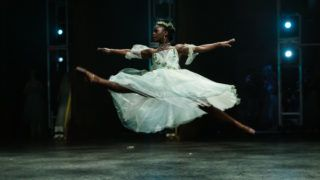 LONDON, ENGLAND - JANUARY 13:  Michaela DePrince performs 'Giselle' with the English National ballet at the Coliseum on January 13, 2017 in London, England.  (Photo by Ian Gavan/Getty Images)